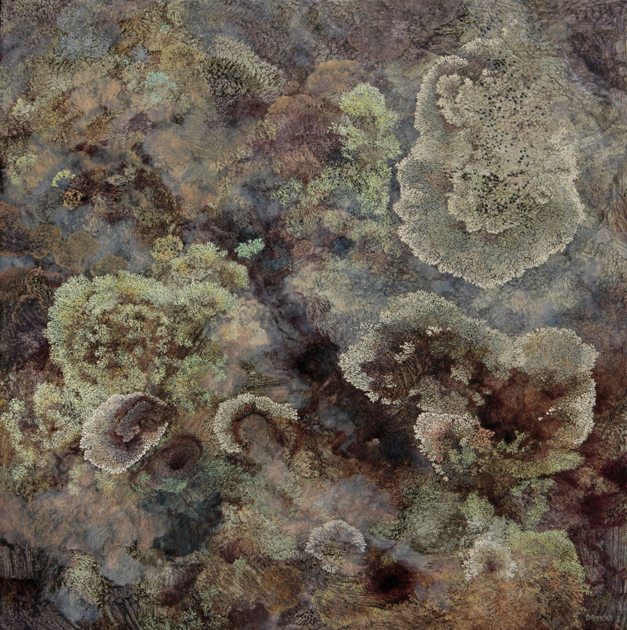 Lichen- Colonized
