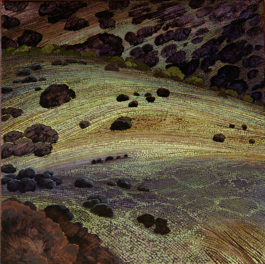 Karin Daymond Ntsinini II 30 x 30cm oil on board